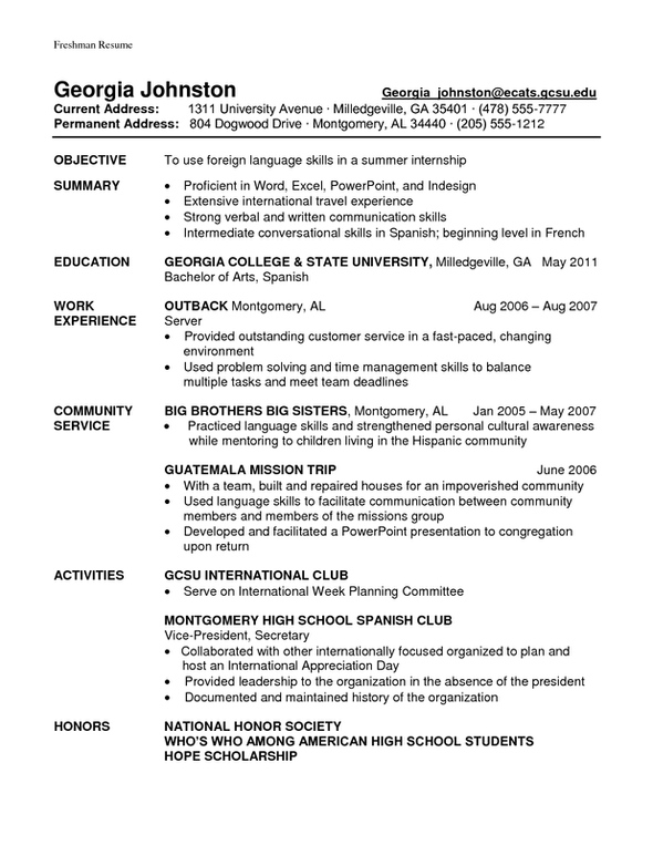 exle resume exle student athlete resume